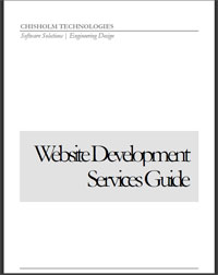 Website Services Guide: Cover